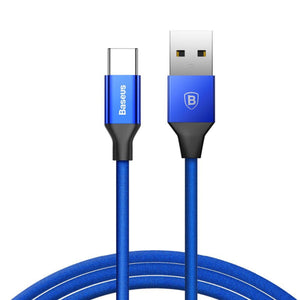 Type-C Yiven series cable - Blue