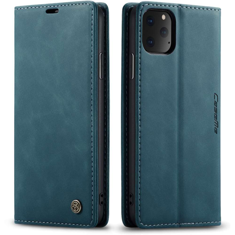 CASEME Apple iPhone 11 Pro Retro Wallet Case - Blue