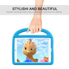 Load image into Gallery viewer, Just in Case Apple iPad 10.2 2019 Kidscase Stand Cover (Blue)