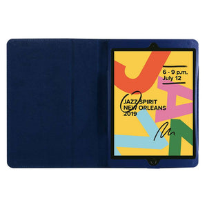 Just in Case Apple iPad 10.2 2019 Leather Protective Case (Blue)