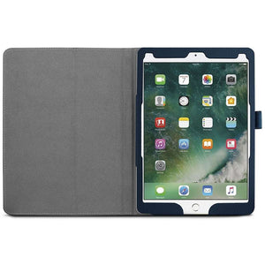 Just in Case Apple iPad Pro 10.5 (2017) Leather Protective Case (Dark Blue)