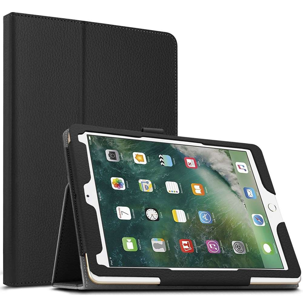 Just in Case Apple iPad Pro 10.5 (2017) Leather Protective Case (Black)
