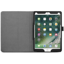 Load image into Gallery viewer, Just in Case Apple iPad Pro 10.5 (2017) Leather Protective Case (Black)