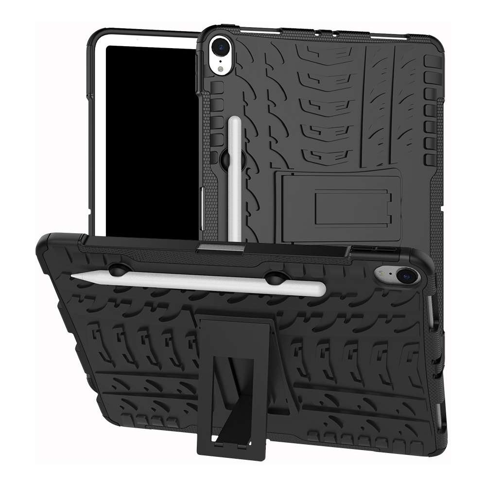 Just in Case Rugged Hybrid Apple iPad Pro 11 2018 Case (Black)