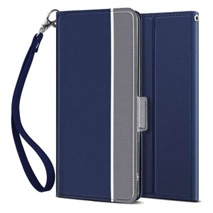 Just in Case Apple iPhone 11 Fashion TPU Wallet Case - Blue