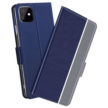 Load image into Gallery viewer, Just in Case Apple iPhone 11 Fashion TPU Wallet Case - Blue
