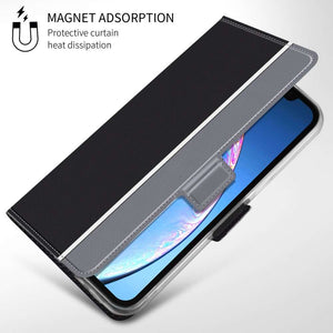Just in Case Apple iPhone 11 Fashion TPU Wallet Case - Black