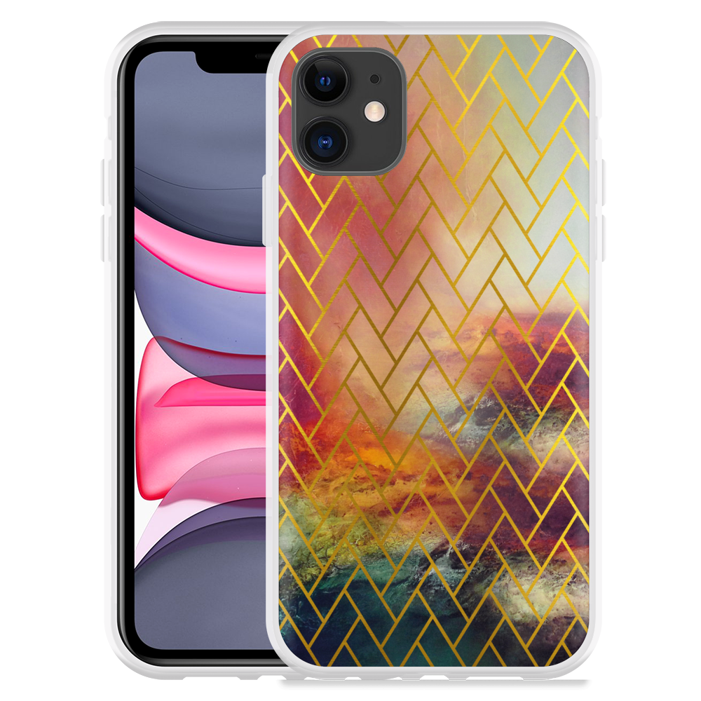 Apple iPhone 11 Hoesje Abstract Pattern