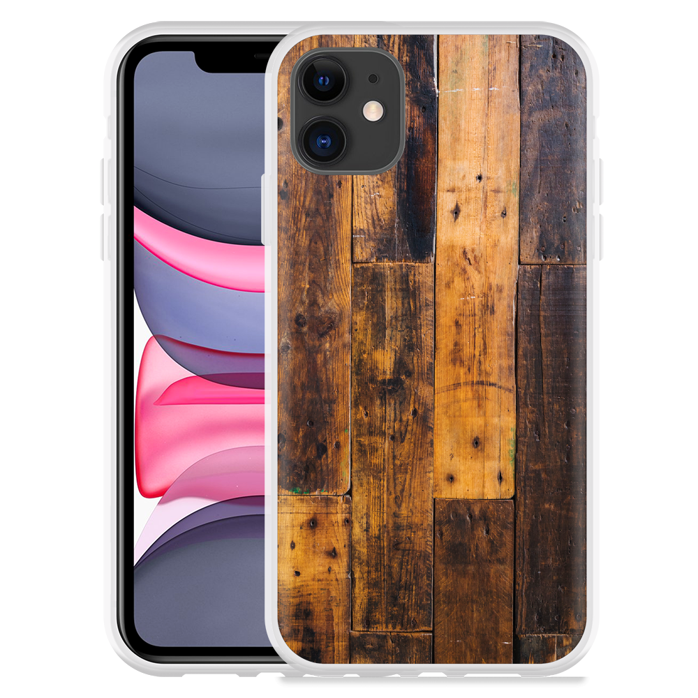 Apple iPhone 11 Hoesje Special Wood