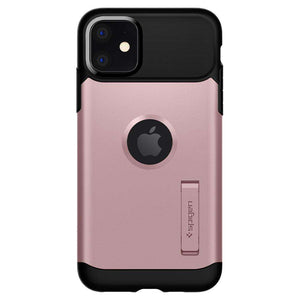 Spigen Slim Armor Apple iPhone 11 Case (Rose Gold) - 076CS27078
