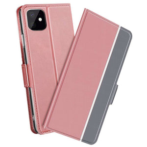 Just in Case Apple iPhone 11 Pro Fashion TPU Wallet Case - Rose Gold