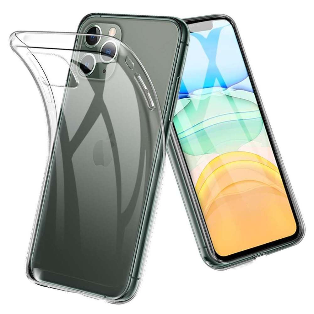 Just in Case Apple iPhone 11 Pro Soft TPU case (Clear)