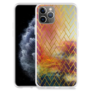 Apple iPhone 11 Pro Hoesje Abstract Pattern