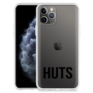 Apple iPhone 11 Pro Hoesje Huts zwart