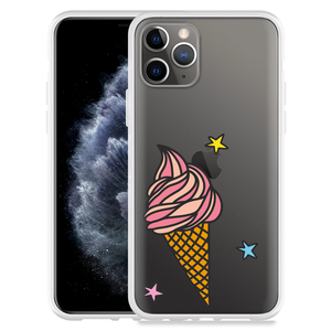 Apple iPhone 11 Pro Hoesje Ice cone