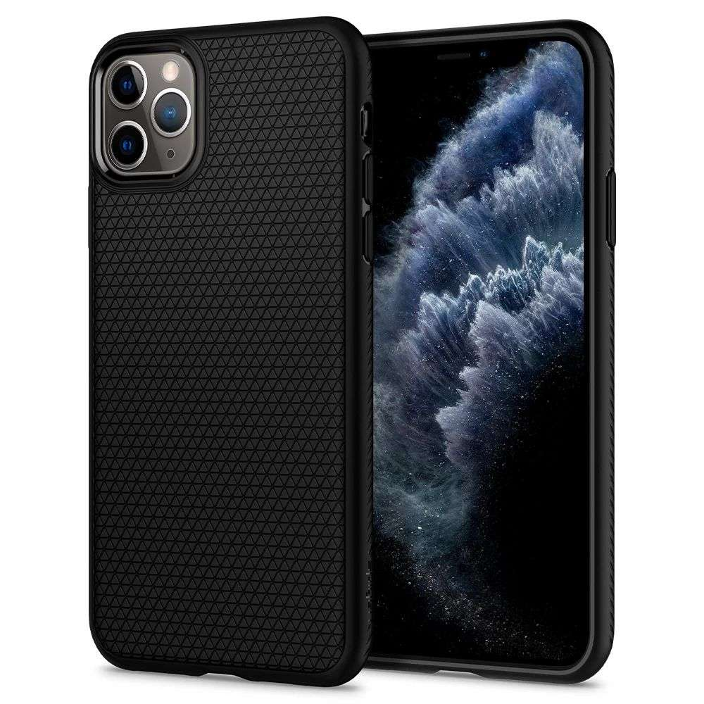 Spigen Liquid Air Apple iPhone 11 Pro Case (Black) 077CS27232