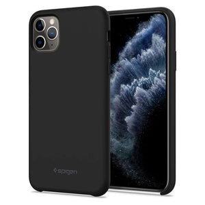Spigen Silicone Fit Case Apple iPhone 11 Pro (Black) 077CS27226