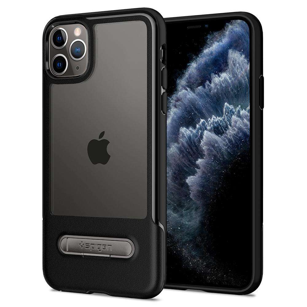 Spigen Slim Armor Essential S Apple iPhone 11 Pro Case (Black) 077CS27519