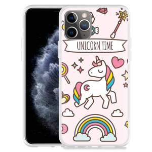 Apple iPhone 11 Pro Hoesje Unicorn Time