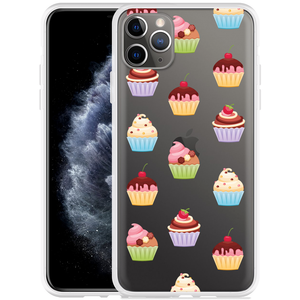 Apple iPhone 11 Pro Max Hoesje Cupcakes