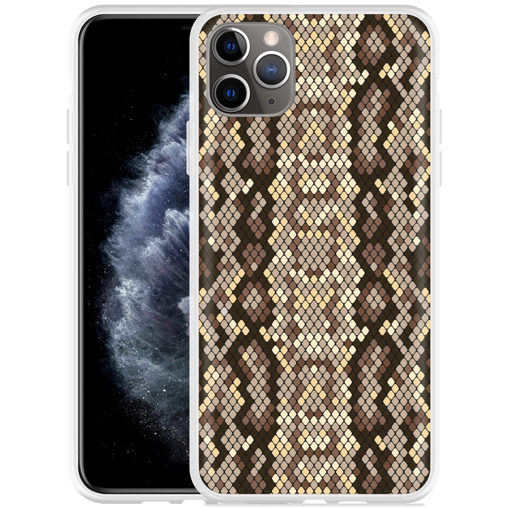 Apple iPhone 11 Pro Max Hoesje Snakeskin Pattern