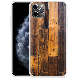 Apple iPhone 11 Pro Max Hoesje Special Wood