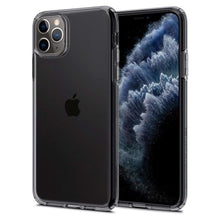 Load image into Gallery viewer, Spigen Liquid Crystal Case Apple iPhone 11 Pro Max (Black) 075CS27130