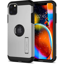 Load image into Gallery viewer, Spigen Tough Armor Case Apple iPhone 11 Pro Max (Satin Silver) 075CS27143