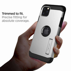 Spigen Tough Armor Case Apple iPhone 11 Pro Max (Satin Silver) 075CS27143