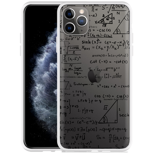 Apple iPhone 11 Pro Max Hoesje Wiskunde zwart