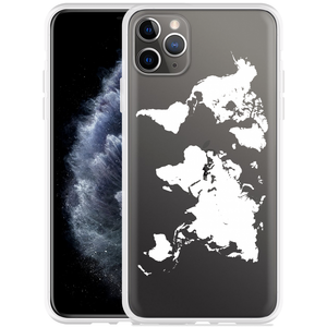 Apple iPhone 11 Pro Max Hoesje World Map