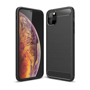 Rugged TPU cover voor Apple iPhone 11 Pro Max - zwart