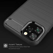 Load image into Gallery viewer, Rugged TPU cover voor Apple iPhone 11 Pro Max - zwart