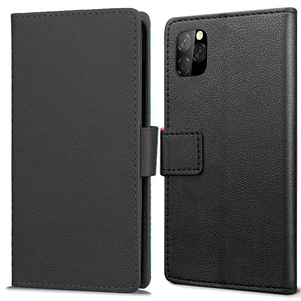 Book Wallet cover voor Apple iPhone 11 Pro Max - zwart