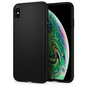 Spigen Liquid Air Apple iPhone Xs Max Case (Black) 065CS25126
