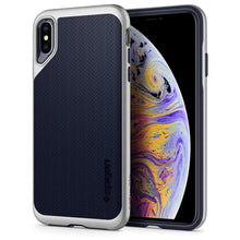 Load image into Gallery viewer, Spigen Neo Hybrid Case Apple iPhone Xs Max (Satin Silver) 065CS24840