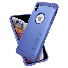 Load image into Gallery viewer, Spigen Slim Armor Apple iPhone Xs Max Case (Violet) - 065CS25155