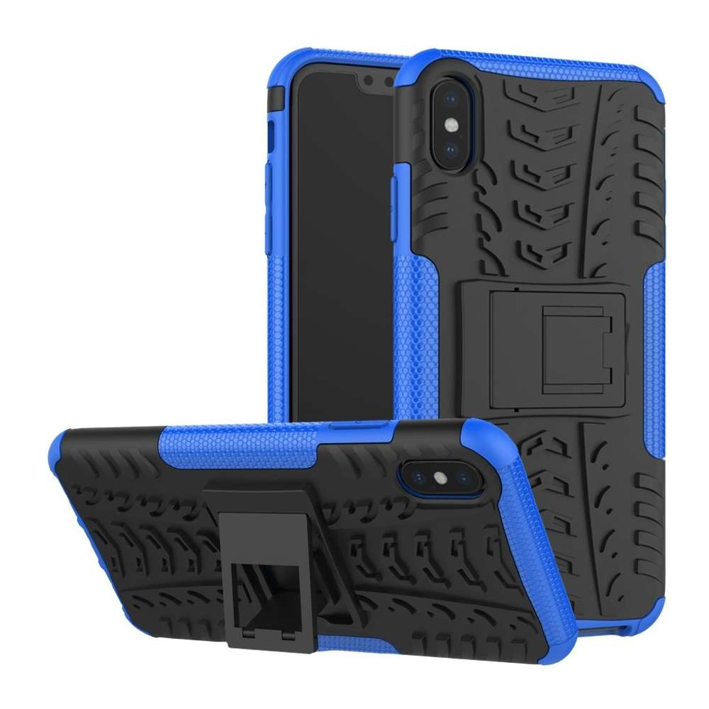 Just in Case Rugged Hybrid Apple iPhone Xs Max Case (Blue)