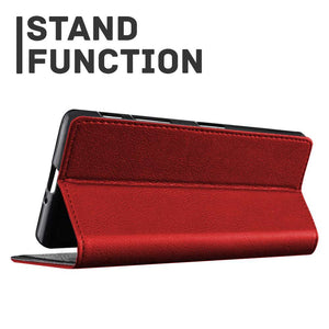 Just in Case Apple iPhone Xs Max Wallet Case (Red)