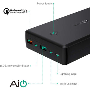 Aukey QC 3.0 Powerbank 30000mAh PB-T11
