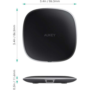 Aukey Graphite Q 10W Wireless Fast Charger LC-Q6 - Black