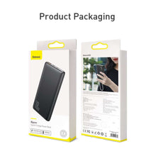 Load image into Gallery viewer, Baseus QC 3.0 PD 3.0 Powerbank 10000mAh (black)