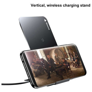 Baseus Wireless Charging Pad Stand (Black)