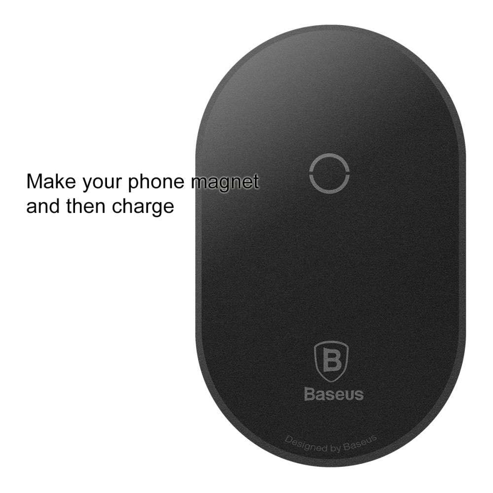 Baseus Microfiber Wireless Charging Receiver for Phone with Micro USB Port