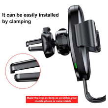 Load image into Gallery viewer, Baseus Qi Wireless Car Holder With Vent mount