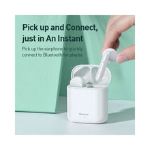 Load image into Gallery viewer, Baseus Wireless Earphones Encok W09 - White