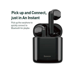 Baseus Wireless Earphones Encok W09 - Black