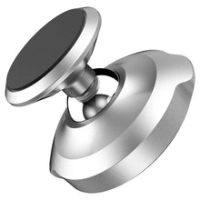 Load image into Gallery viewer, Baseus Magnetic Dashboard Mount (360-Degree Rotation) (Silver)