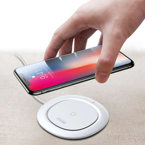 Baseus Wireless Qi Charger (UFO) - White