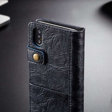 Load image into Gallery viewer, CASEME Apple iPhone Xs Max Wallet Case - Blue